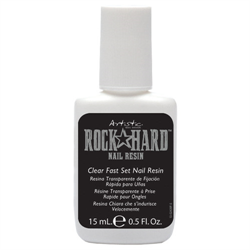 Artistic Hard Rock Resin - Clear 15ml. - ( brush on)