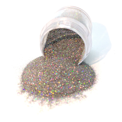 Wildflowers Silver Holo Micro Glitter Pot #13090