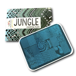 Wildflowers Jungle Stamping Plate  #7050