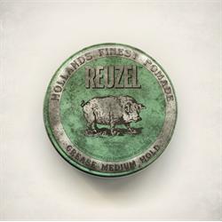 Reuzel Green Pomade Grease 1.3oz - 11.30