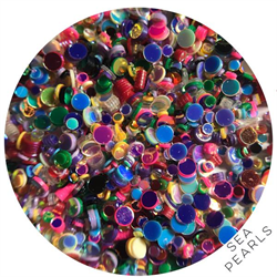 Wildflowers Glitter Pot - Sea Pearls  #10300