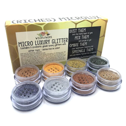 Wildflowers RICHES 8pc Lux Glitter Set #1000663
