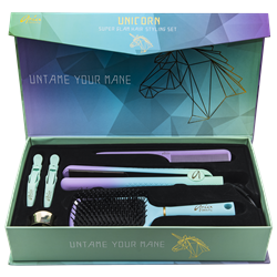 ARIA 542658 Unicorn Super Glam Straightner Set