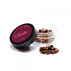 Babe Flare Beads Caramel 3.5mm