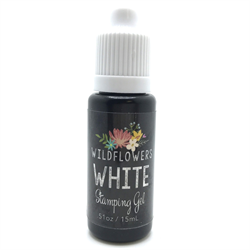Wildflowers White Stamping Gel  #10525