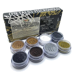Wildflowers METALS 9pc Holo Glitter Set #10000625