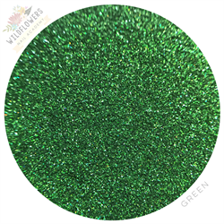 Wildflowers Green Holo Micro Glitter Pot #13040