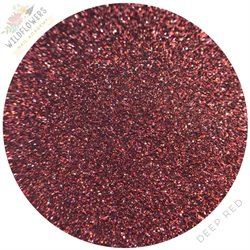 Wildflowers Deep Red Holo Micro Glitter Pot #13000