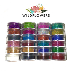 Wildflowers Micro Mini Glitter Set - 24 Colors  #10850