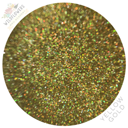 Wildflowers Yellow Gold Holo Micro Glitter #13800