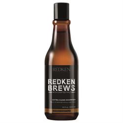 Redken Brews Extra Clean Shampoo 300ml - 17.35