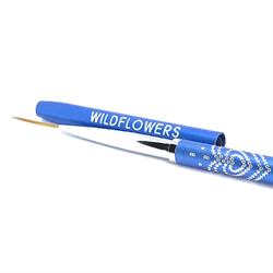 Wildflowers Blue Striper Brush  #10575