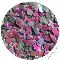 Wildflowers Glitter Pot - Bubbles #13190