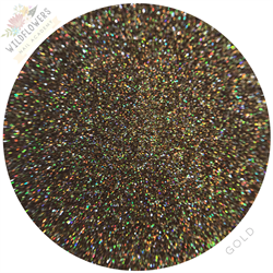 Wildflowers Gold Holo Mico Glitter #13030