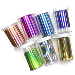 Wildflowers  7pc Holographic  Foil Set   #9000