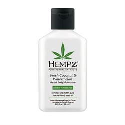 Hempz Coconut & Watermelon Herbal Body Moisturizer  2.25 fl.oz. -  $7.61