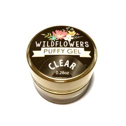 Wildflowers Clear Puffy Gel   #6050