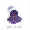 Wildflowers Glitter Pot - Amethyst   #10475