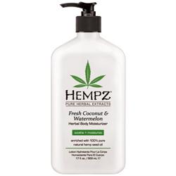Hempz Coconut & Watermelon  Herbal Body Moisturizer  17 fl.oz. -  $23.97