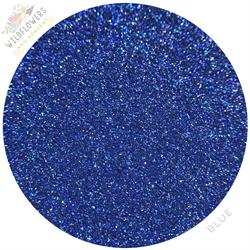Wildflowers Blue Holo Micro Glitter Pot #12050