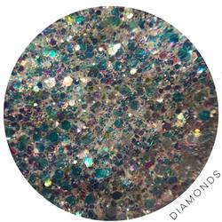 Wildflowers Glitter Pot - Diamonds  #10900